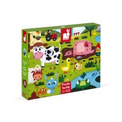 Puzzle Tactile 02772 - Janod