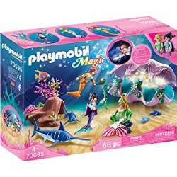 Playmobil 70095 - Coquillage lumineux avec sirènes