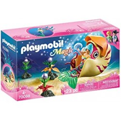 Playmobil 70098 - Mermaid with Sea Snail Gondola