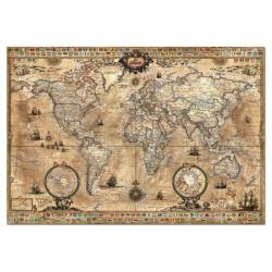 Casse-tête 1000 pièces - Educa - Ancienne carte du monde