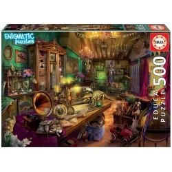 500 pieces Mysterious puzzle - Educa - Antiques Store