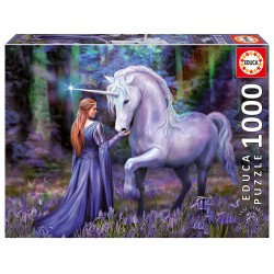 Casse-tête 1000 pièces - Educa - Bluebell Woods, Anne Stokes