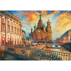 1500 pieces puzzle - Educa - Saint-Petersburg