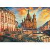 Casse-tête 1500 pièces - Educa - Saint-Petersbourg