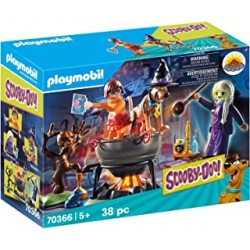 Playmobil 70366 - SCOOBY-DOO! Adventure in the Witch's Cauldron