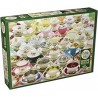 Cobble Hill 80084 - Puzzle 1000 pcs - More Teacups