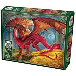 Cobble Hill 80250 - Casse-tête 1000 mcx - Red Dragon's Treasure