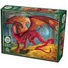 Cobble Hill 80250 - Puzzle 1000 pcs - Red Dragon's Treasure