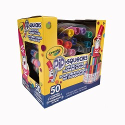Crayola - 50 telescoping marker tower