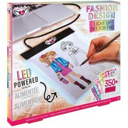 Fashion Angels- Fashion Design Light Pad Sketch Set