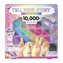 Fashion Angels- Tell Your Story- 10,000+ Beads Super Set