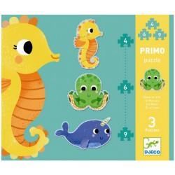 Djeco - Primo Puzzle -Dans la mer