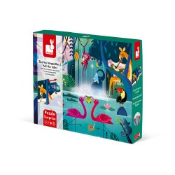 Puzzle Surprise - Janod - Festin dans la Jungle