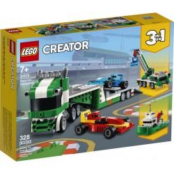 LEGO 31113 - Creator - Le Transporteur de Voitures de Course