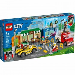LEGO 60306 - City - La rue Commerçante