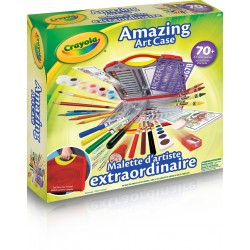 Crayola - Mallette d'artiste extraordinaire