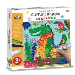 Coloriage magique Facile - Les Animocolo