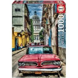 Casse-tête 1000 pièces - Educa - Voiture de la Havane