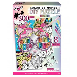 Fashion Angels - See The Good...DIY Color By Number Puzzle