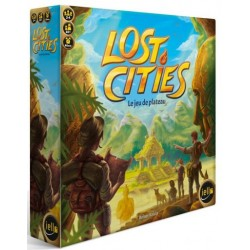 Lost Cities : Jeu de Plateau