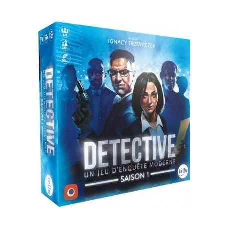Detective - Un jeu d'enquête moderne - Saison 1