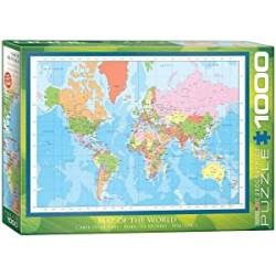 Eurographics - Modern Map of the World - 673