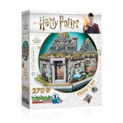 Wrebbit Puzzle 3D - 0512 - La Cabane de Hagrid