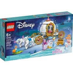 LEGO 43192 - Disney - Le carrosse royal de Cendrillon