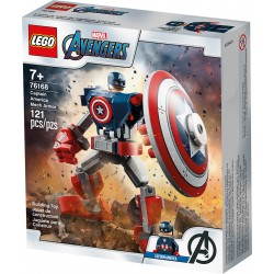 LEGO 76168 - Super Heroes - L'armure robot de Capitaine America