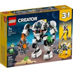 LEGO 31115 - Creator - Le robot d'extraction spatiale