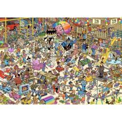 Puzzle 1000 pièces - Jan van Haasteren : Jardinerie