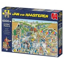 Puzzle 1000 pièces - Jan van Haasteren : Formule 1, Le Départ