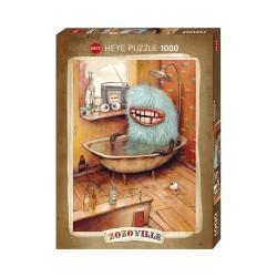 Puzzle 1000 pièces - Zozoville - Bathtub