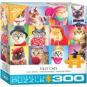 Eurographics - Silly Cats - 5606 - 300 pièces larges