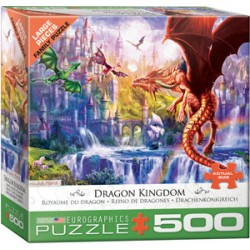 Eurographics - Dragon Kingdom - 5362 - 500 pièces larges