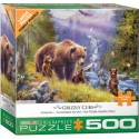 Eurographics - Grizzly Cubs - 5546 - 500 pièces larges