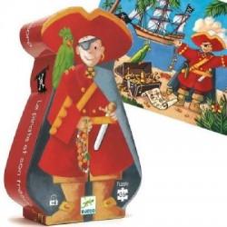 Djeco - Casse-tête silhouette 36 mcx - Pirate