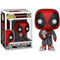 Funko Pop! 327 - Marvel - Bedtime Deadpool