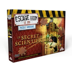 Le secret du scientifique - Escape Room Puzzle