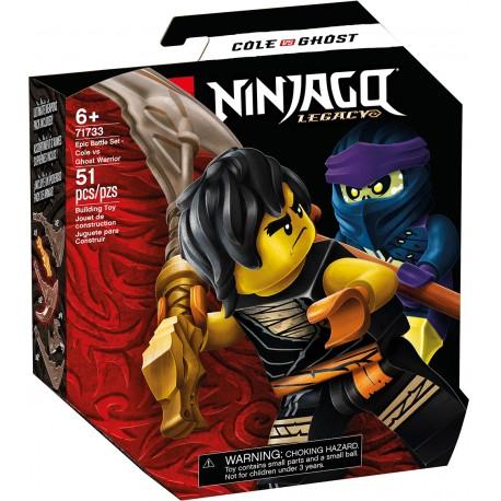 LEGO 71732 - Ninjago - Set de bataille épique - Jay contre Serp