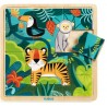 Djeco - Puzzle en bois - Jungle