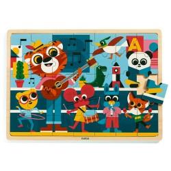 Djeco - Puzzle en bois - Music