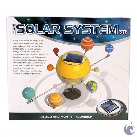 Système solaire à construire