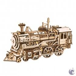 Wooden Mechanical Gears - Locomotive