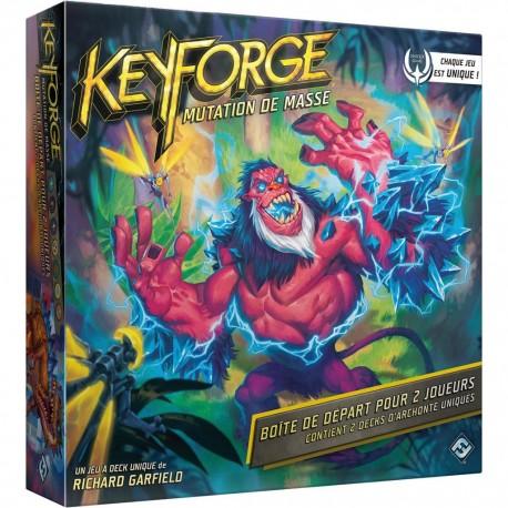 Keyforge : Mutation de Masse - Boîte de départ 2 joueurs