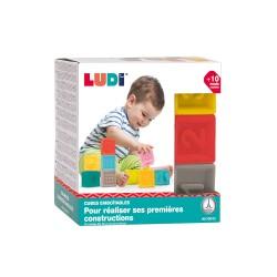 LUDI - Cubes emboîtables 9 pièces