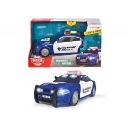 Action Series - Auto de Police Dodge Charger Sons et lumières 25 cm 1:18
