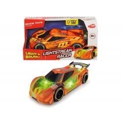Dickie - Racing Lightstreak Racer Sons et lumières 20 cm