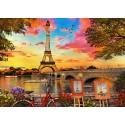 Casse-tête 3000 pièces - Coucher de soleil à Paris
