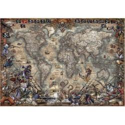 Casse-tête 2000 pièces - Carte des pirates